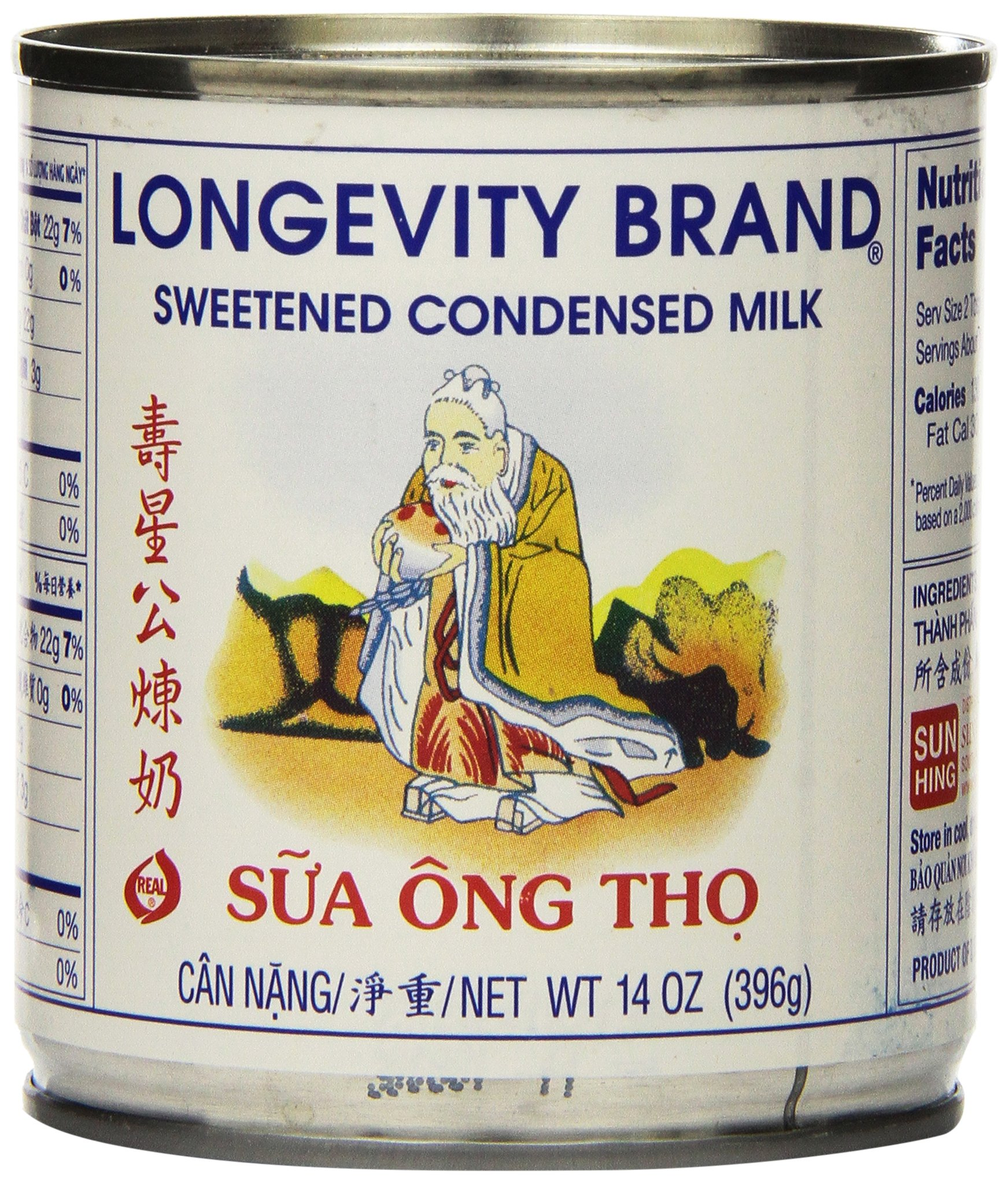Longevity Sweetened Condensed Milk