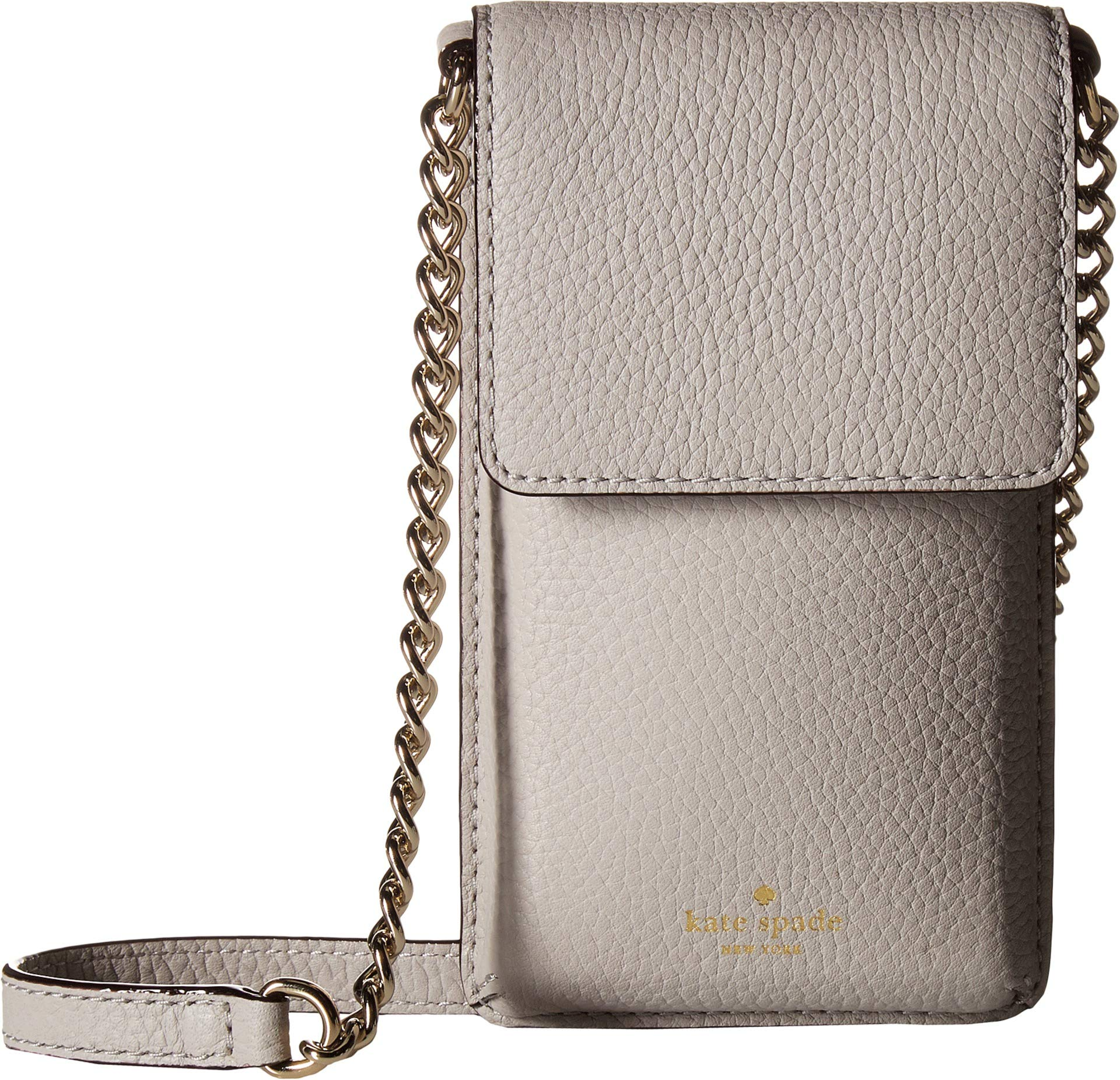 Kate Spade New York Women's North/South Crossbody Phone Case for iPhone¿ 6, 6s, 7, 8 Ash Grey One Size