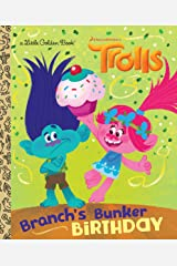 Branch's Bunker Birthday (DreamWorks Trolls) (Little Golden Book) Kindle Edition
