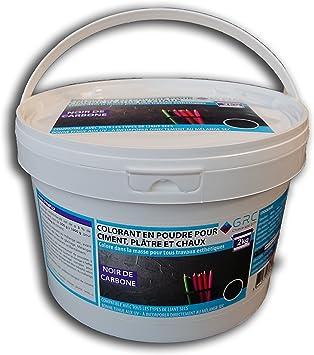 GRC – Colorante polvo negro para cemento, yeso y cal – 2 kg ...