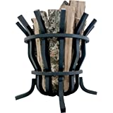 "Titan Self-Feeding 1"" Solid Steel Fire Pit Basket"