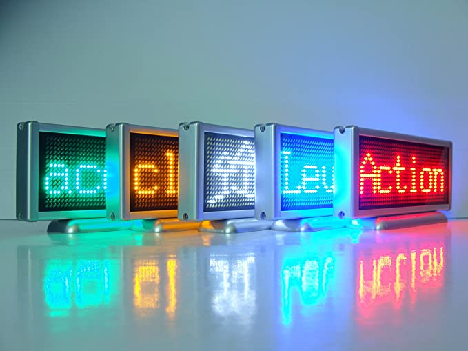 5.7 inch lunghezza 16 x 48 pixel led light text message scrolling