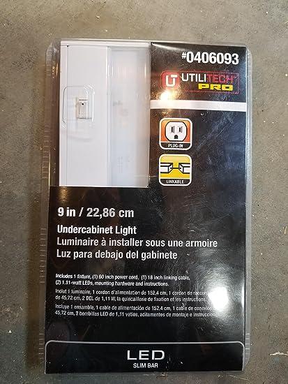 UtiliTech Pro Undercabinet LED Light/ Slim Bar 9