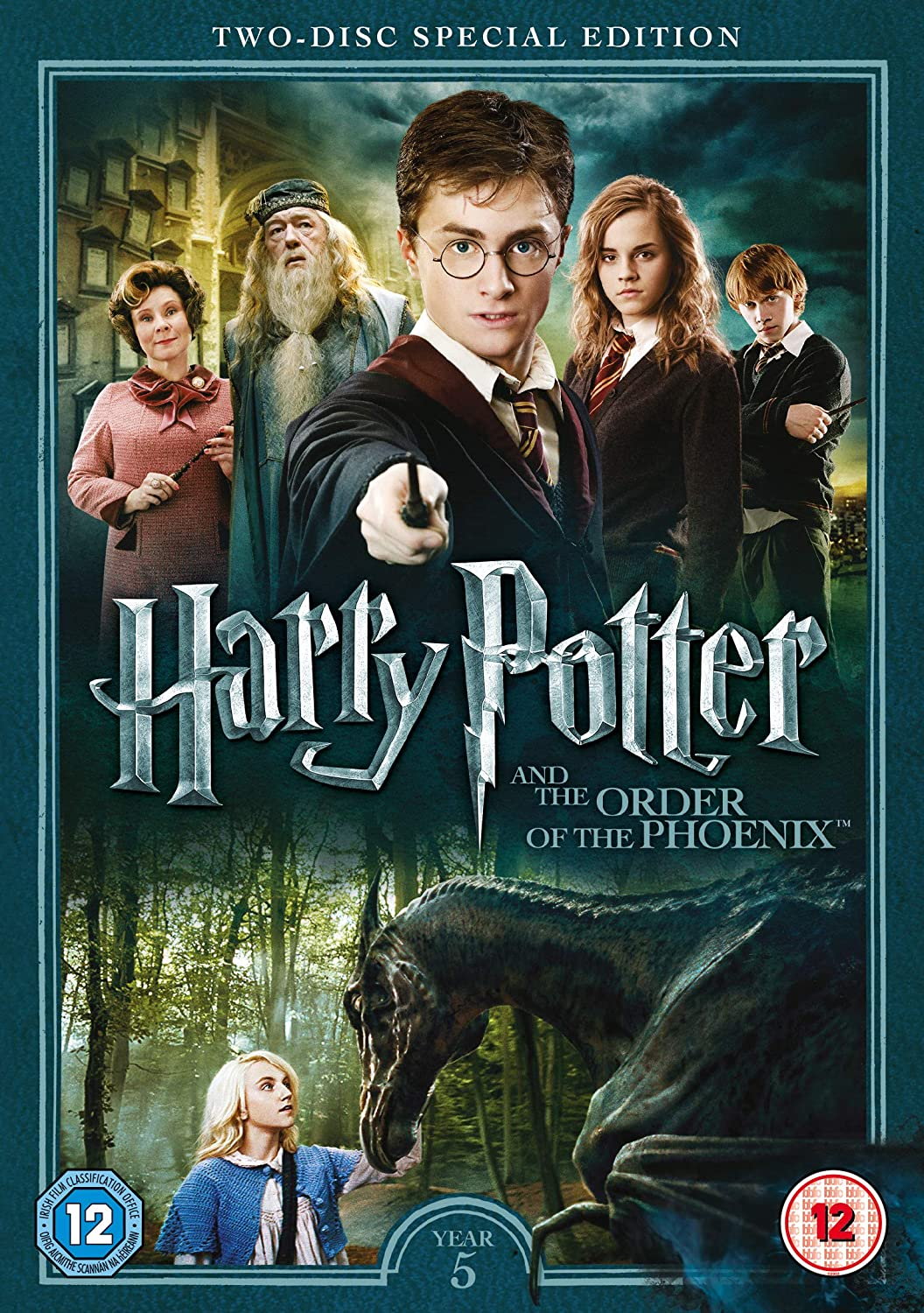 Amazon Com Harry Potter And The Order Of The Phoenix 2016 Edition Includes Digital Download Dvd Movies Tv