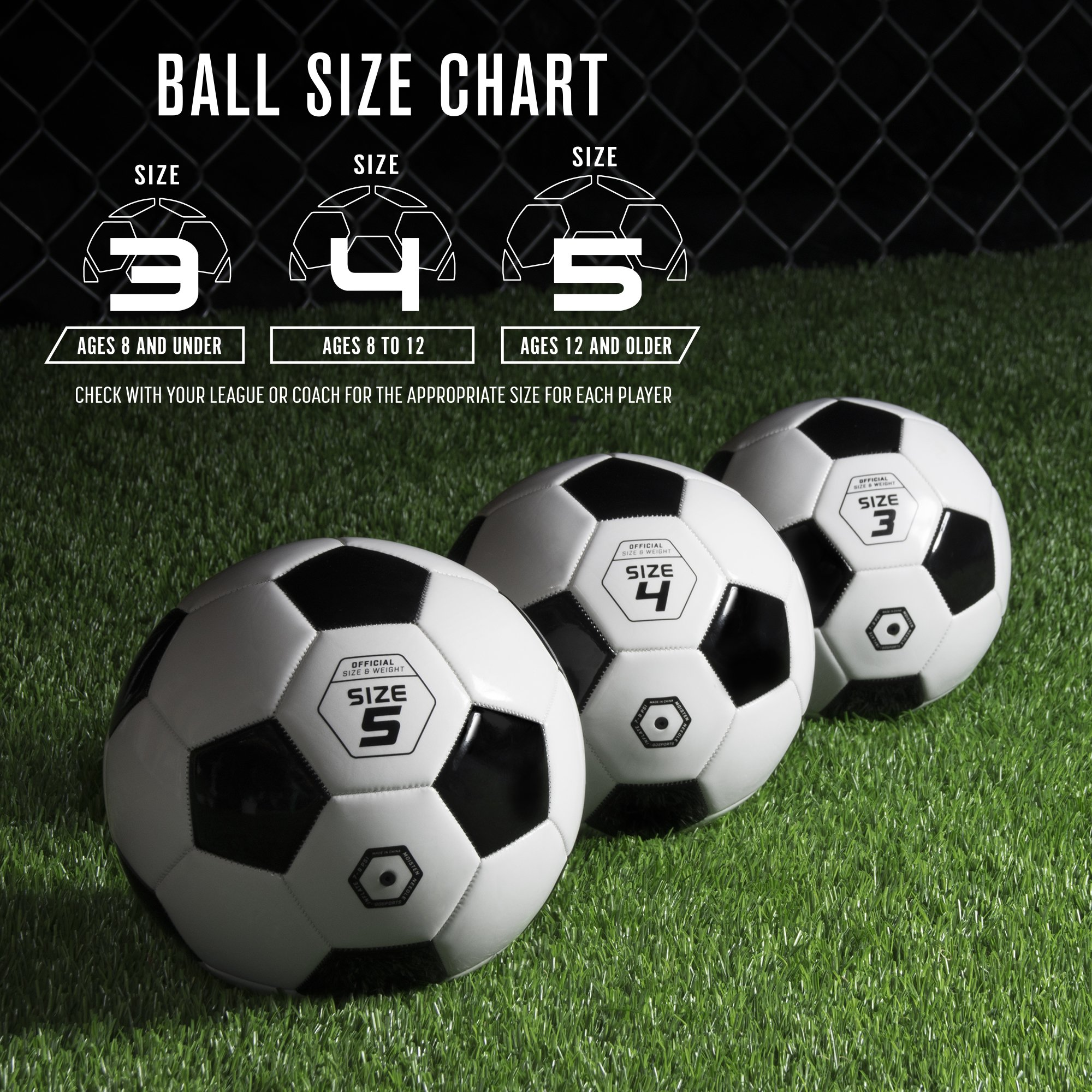 6d4583bd2 GoSports Classic Soccer Ball with - TiendaMIA.com