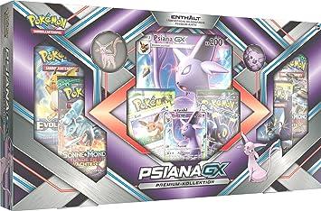 Pokèmon - Pokémon Company International 25954 - Juego de Cartas en Caja PKM Eeveelution Premium GX: Amazon.es: Juguetes y juegos