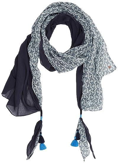 edc by Esprit Accessoires 077ca1q009 Echarpe Femme, Bleu (Navy 400) Taille  unique 67a4edba508