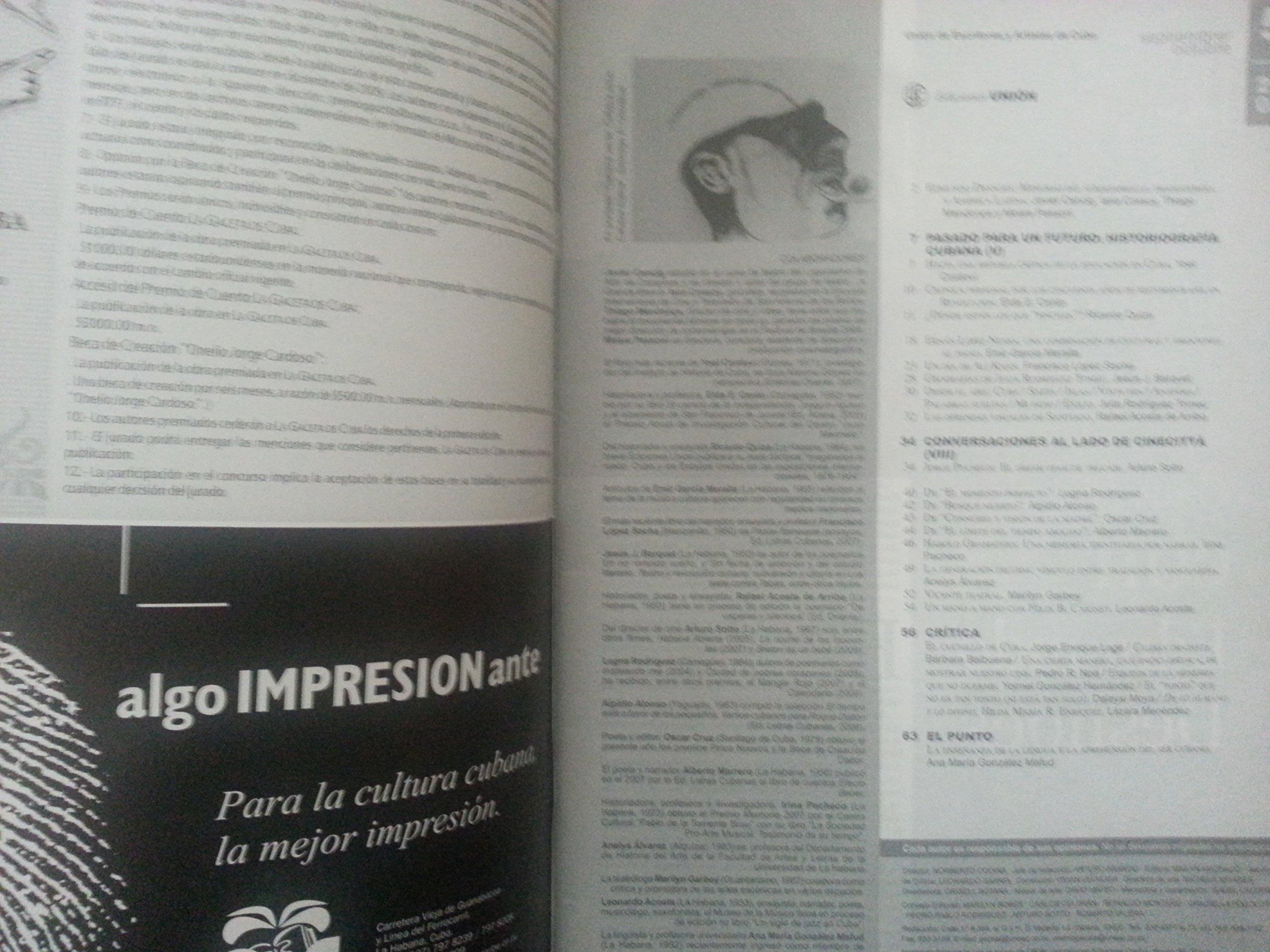 La gaceta de cuba, revista de la union de escritores y artistas de cuba, numero 5, seprtiembre-octubre, del 2009.desnoes, entre hamlet y el quijote.