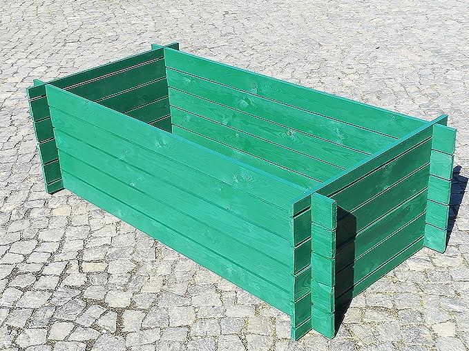 BIHL - Compostador de Madera (170 x 85 x 52 cm, 19 mm ...