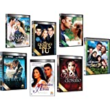 7 Different DVD Boxsets * Spanish TELENOVELAS * Novelas (17 Dvds)