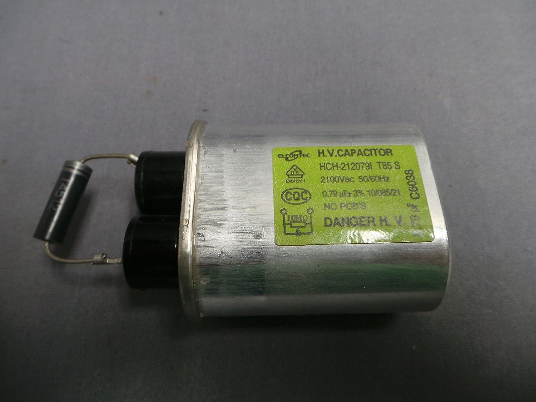 Daewoo hch-212079i 0.79uf microondas condensador: Amazon.es ...
