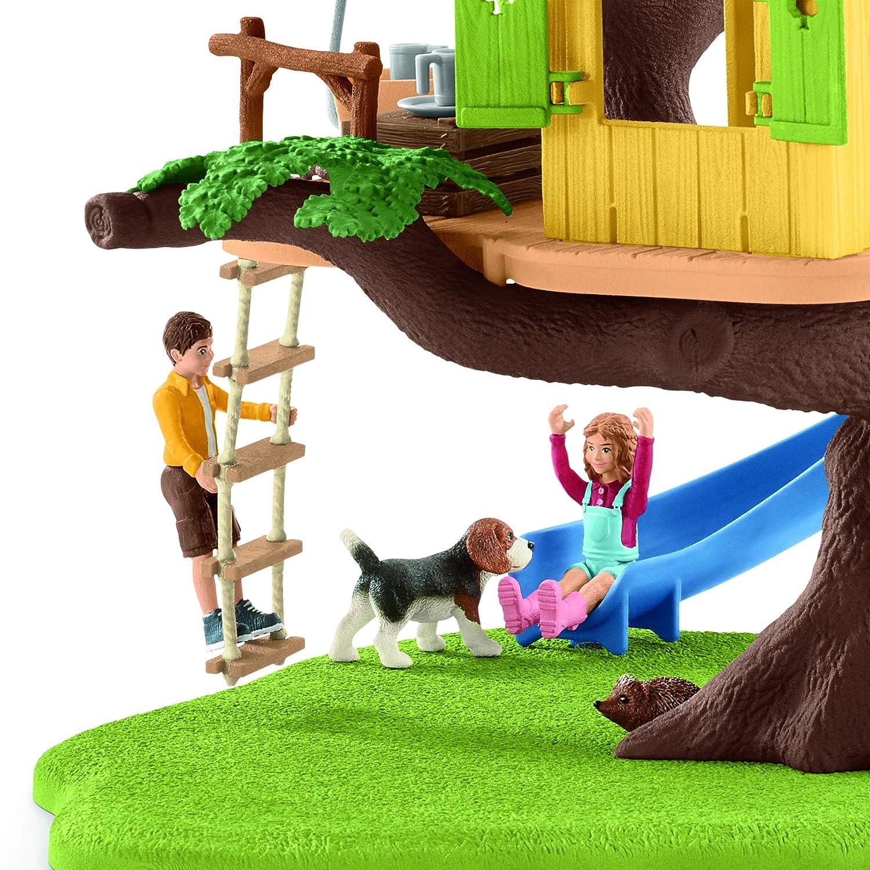 Multicolor Schleich 42408 Adventure Tree House Play Set