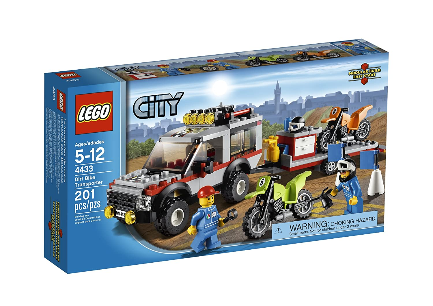 LEGO City Town Dirt Bike Transporter 4433 by LEGO 6034245