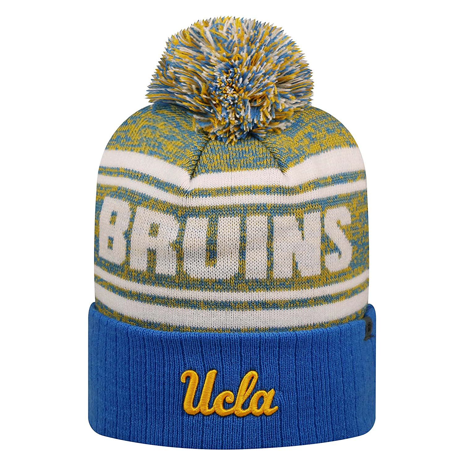 f3796862b7e61 Amazon.com   Top of the World UCLA Bruins Official NCAA Driven Beanie  Cuffed Stocking Stretch Knit Sock Hat Cap 818207   Sports   Outdoors