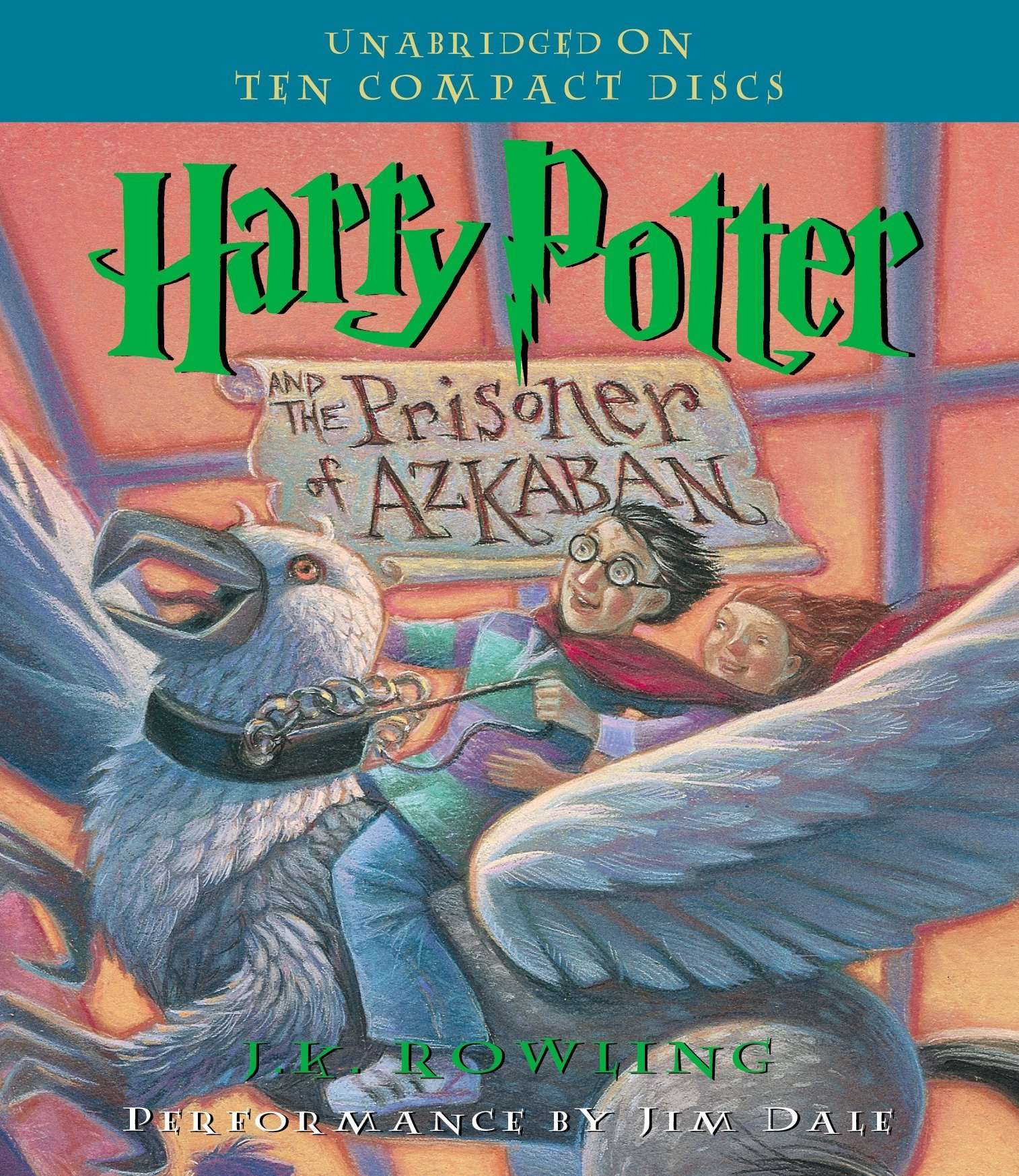 Harry Potter and the Prisoner of Azkaban (Book 3) by Listening Library (Audio) (Image #1)