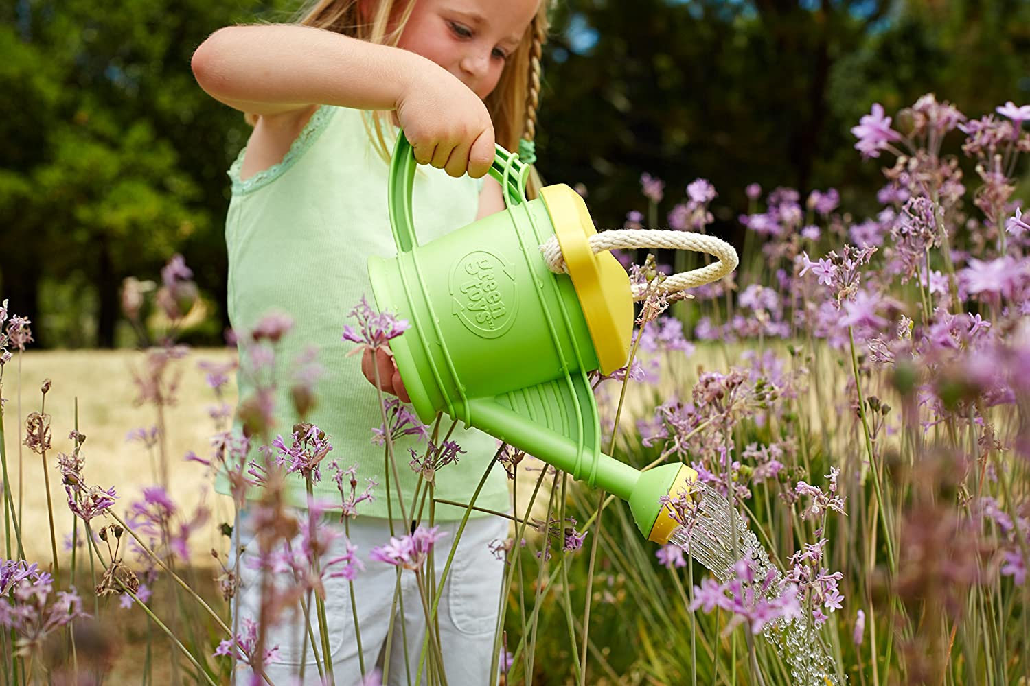amazon com green toys watering can toy green toys u0026 games