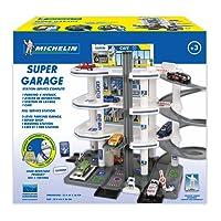 Starlux - Super Garage Michelin Station Service Complète - Dès 3 Ans - Fabrication Européenne, 401101