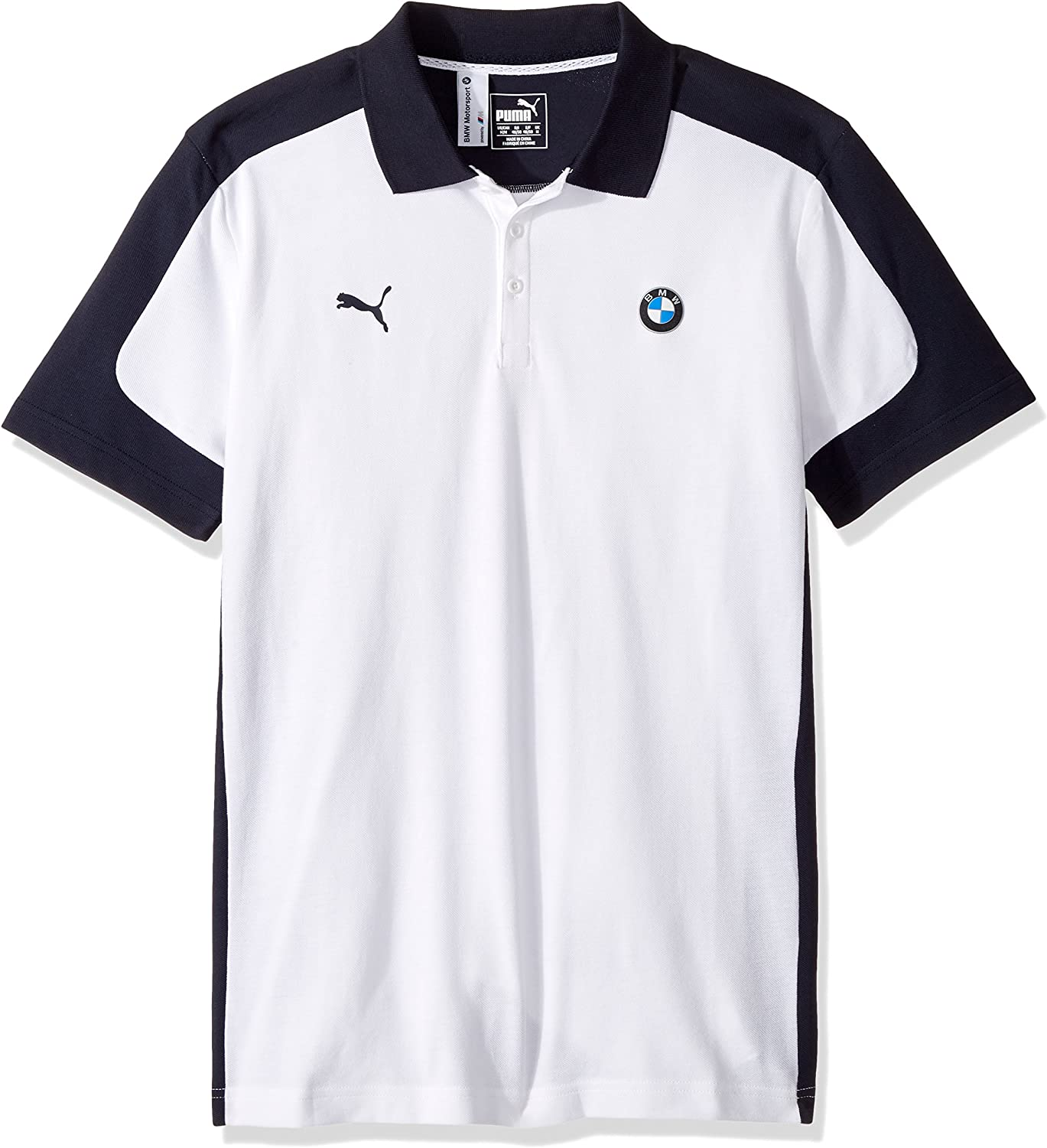PUMA Polo Bmw Motorsport para hombre, Puma White, peque?o: Amazon ...