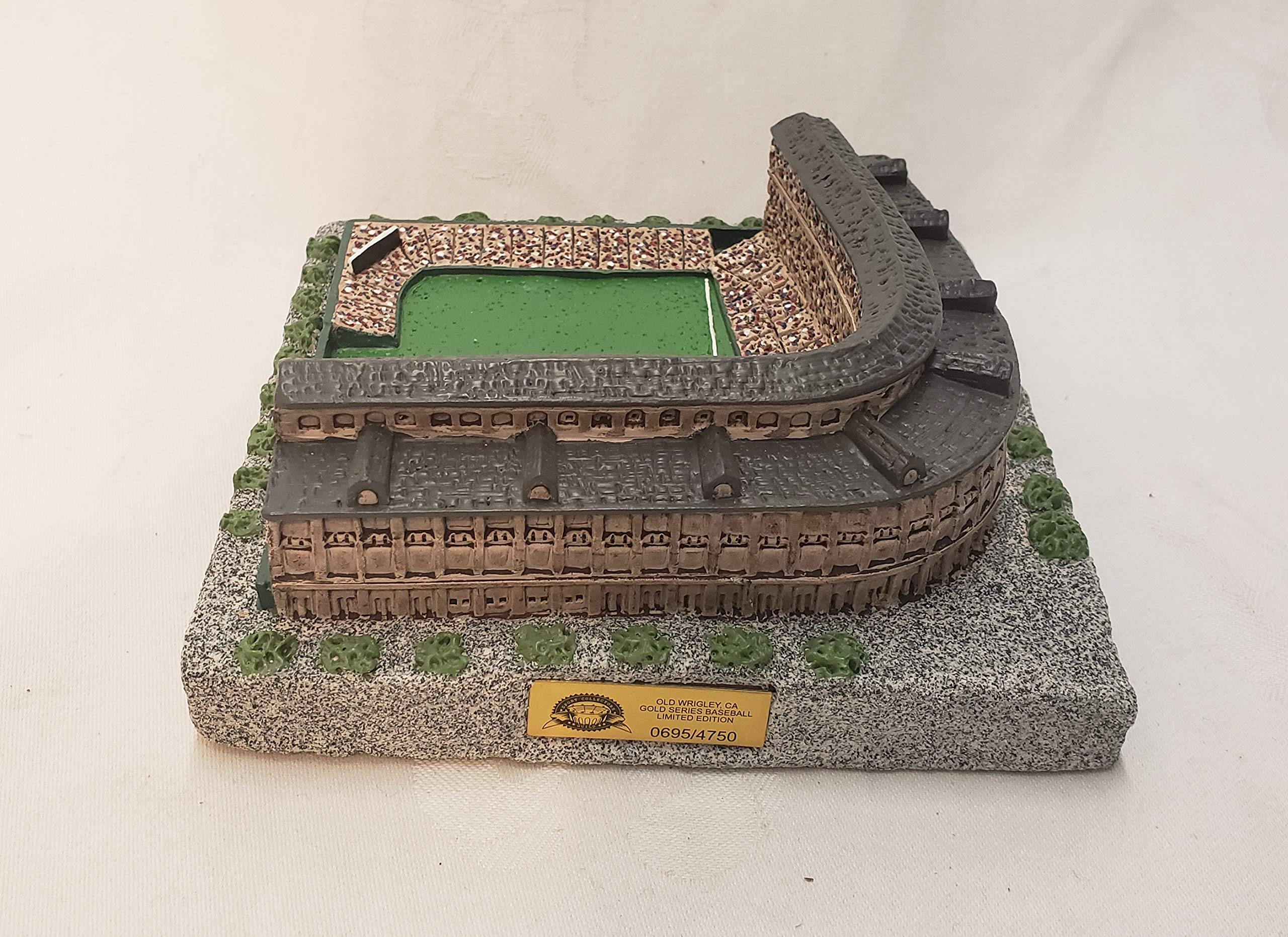 Chicago Cubs Old Wrigley Field Gold Series Stadium Replica