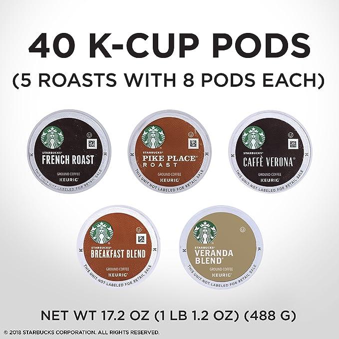 Starbucks - Juego de taza de café para cerveza Keurig, color ...