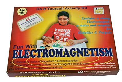 Buy kutuhal electromagnetism activity kit diy educational learning kutuhal electromagnetism activity kit diy educational learning toy multicolour solutioingenieria Gallery