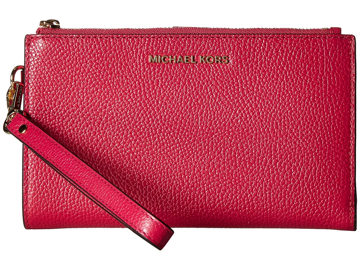 Amazon.com: MICHAEL Michael Kors Womens Adele Double Zip ...