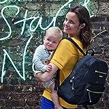 Storksak Charlie Backpack Diaper Bag, Navy