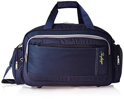 1f9dbd5259e Skybags Cardiff Polyester 55 cms Blue Travel Duffle (DFCAR55BLU):  Amazon.in: Bags, Wallets & Luggage