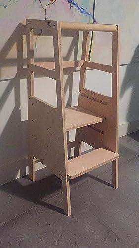 TORRE APRENDIZAJE MONTESSORI REGULABLE: Amazon.es: Handmade