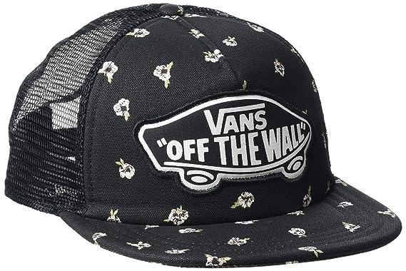 Vans_Apparel Beach Trucker Hat, Gorra de béisbol para Mujer, (Fall Floral) Talla