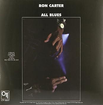 All Blues : Ron Carter: Amazon.es: Música