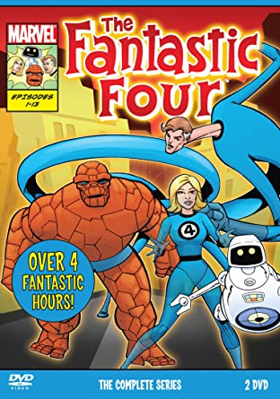 The All New Fantastic Four w/H.E.R.B.I.E. The Robot - Complete 1979 Animated Series