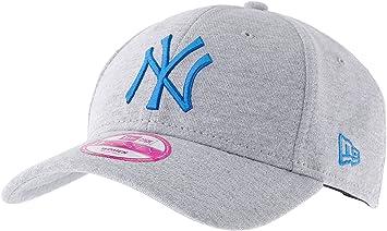 b938e550b80 New Era 9Forty Womens Jersey NY Yankees Baseball Cap - Grey Blue ...