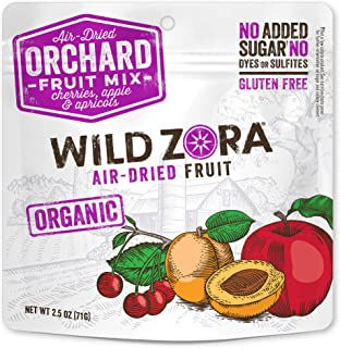 product image for Wild Zora Air Dried Organic Fruit Snack - Orchard Fruit Mix - With Cherries, Apple, and Apricots - Vegan Snacks - No Added Sugar - No Dyes or Sulfites - (3-Pack)