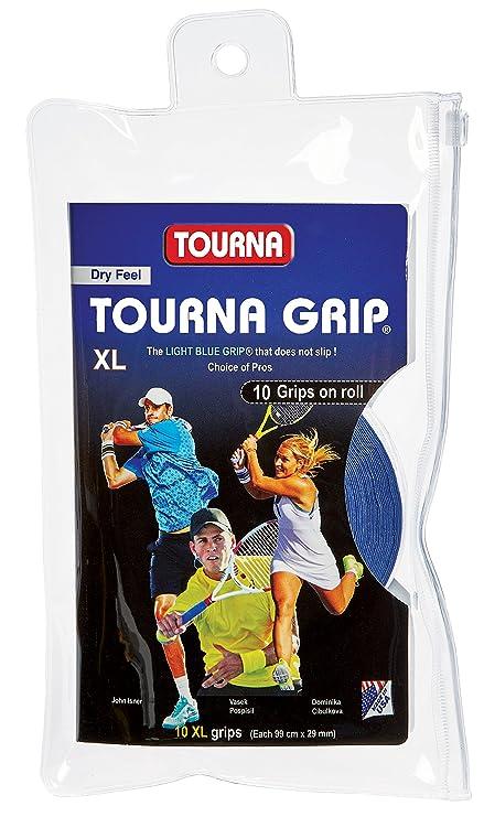 Amazon.com   Tourna Grip XL Original Dry Feel Tennis Grip - 10 Pack ... 803ad250530ce