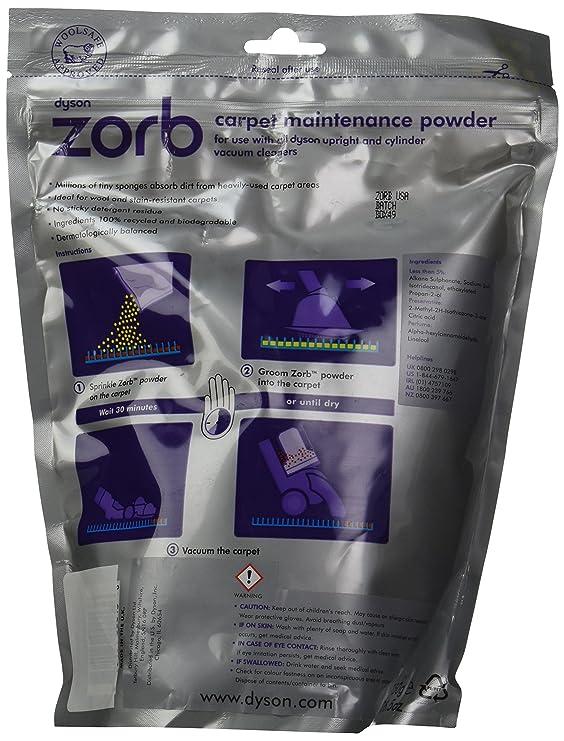 Amazon Dyson Zorb Carpet Maintenance Powder 26 12 Oz