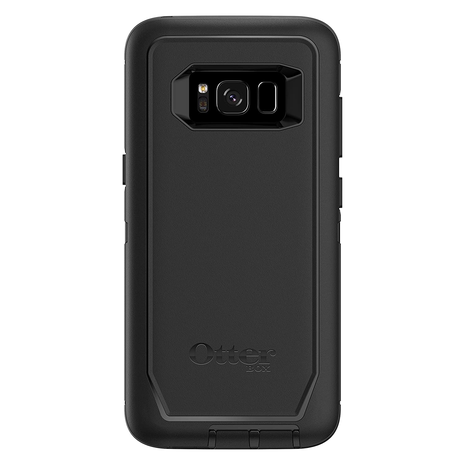 best sneakers de2a3 0f0d4 OtterBox Defender Series SCREENLESS Edition for Samsung Galaxy S8 -  Frustration Free Packaging - Black