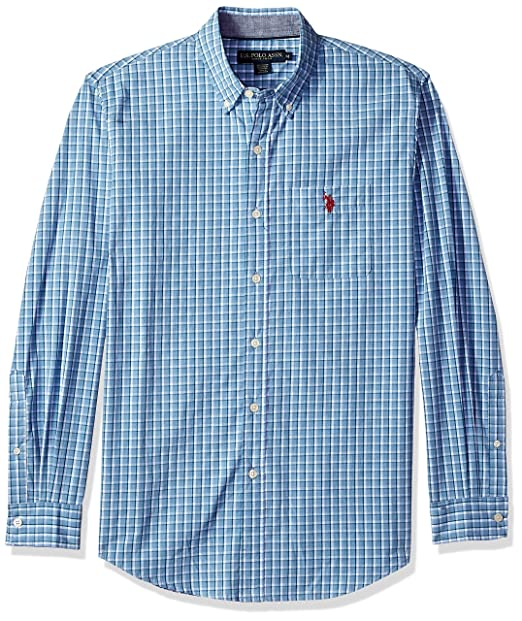 ee5ce6de U.S. Polo Assn. Mens Button Down Long Sleeve Sport Shirt Button Down Shirt:  Amazon.ca: Clothing & Accessories