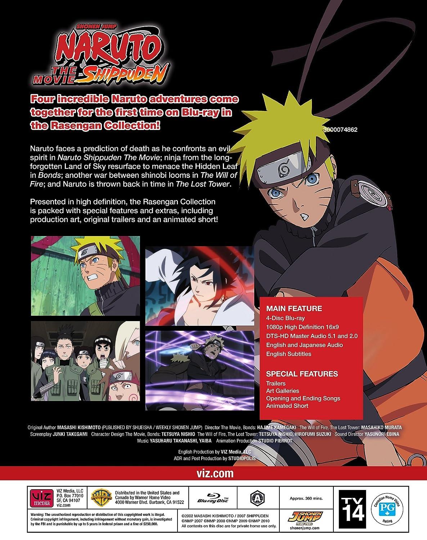 Naruto Shippuden The Movie Rasengan Collection Edizione ...