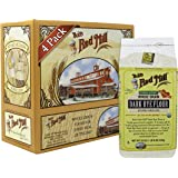 Bob's Red Mill Organic Dark Rye Flour, 22 Oz (4 Pack)