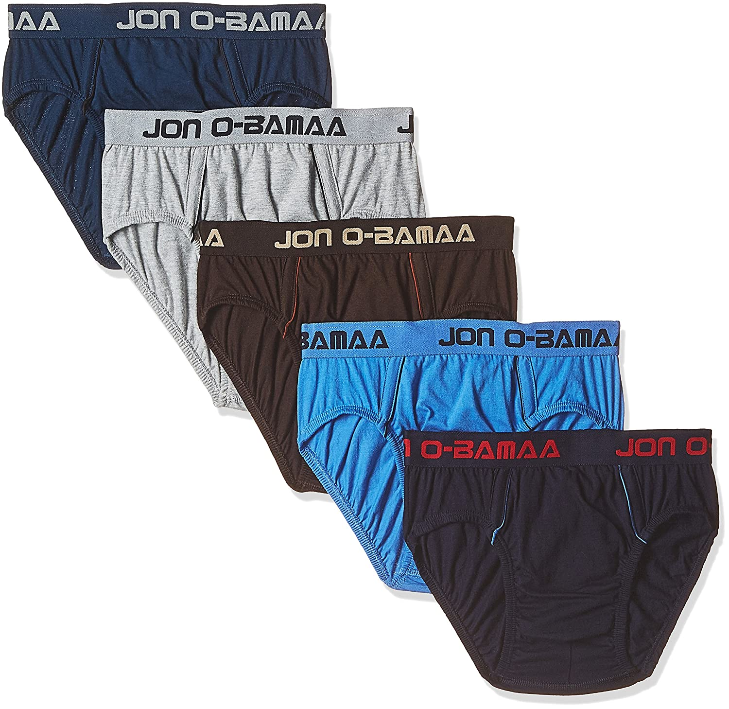 e6263f53af9c Rupa Jon Men's Cotton Brief (Pack of 5) (Colors May Vary) (8903978687872_JN  Brief_95/x-Large_Assorted): Amazon.in: Clothing & Accessories