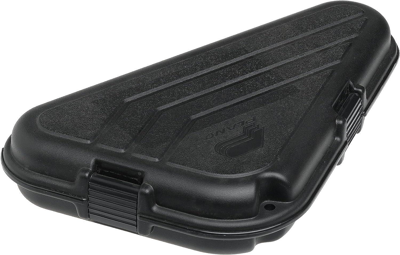 Plano Noir Moyen Petit En forme de pistolet case single pistol
