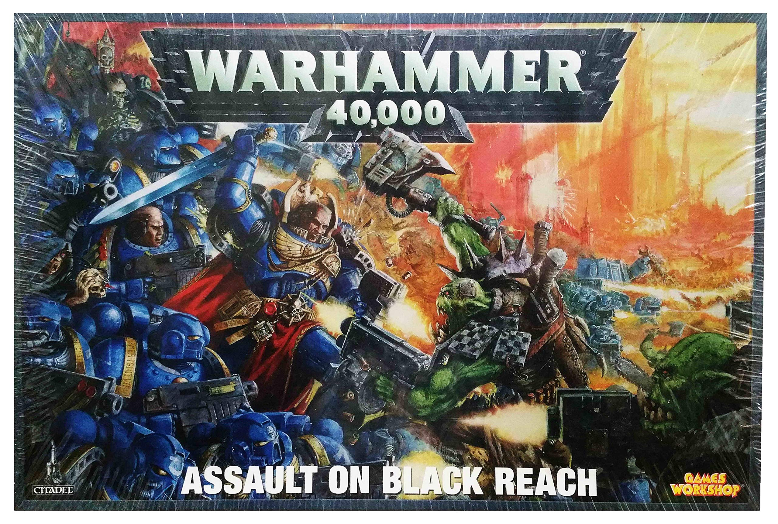 Assault on Black Reach Boxed Set: A Warhammer 40,000 Tabletop Miniatures Game (Games Workshop 40K 30K Space Marines Orks)
