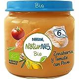 NESTLÉ NATURNES BIO puré Zanahoria y Tomate con Pavo 6 x 200 g