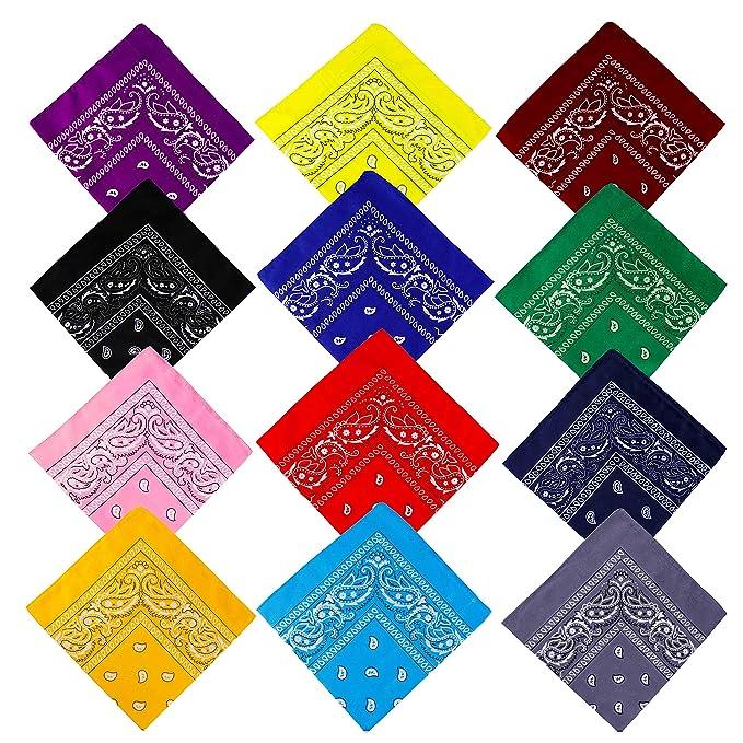 Bandane Cappelli, Bandana per Capelli con Paisley Pattern