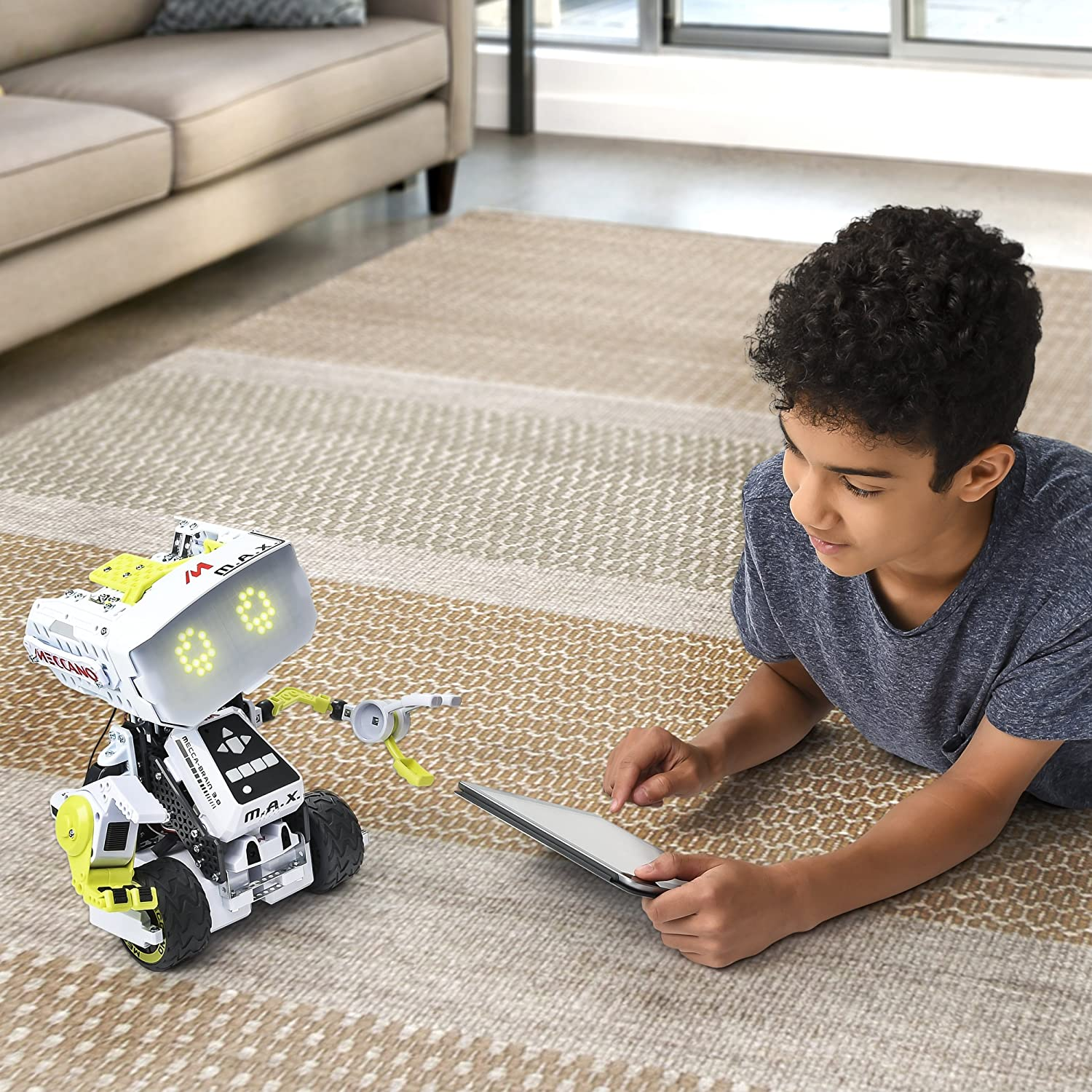 Meccano Erector Max Robotic Interactive Toy With Artificial Snap Circuits Sound Light Combo By Elenco On Barstons Childs Play Intelligence Building Sets Amazon Canada