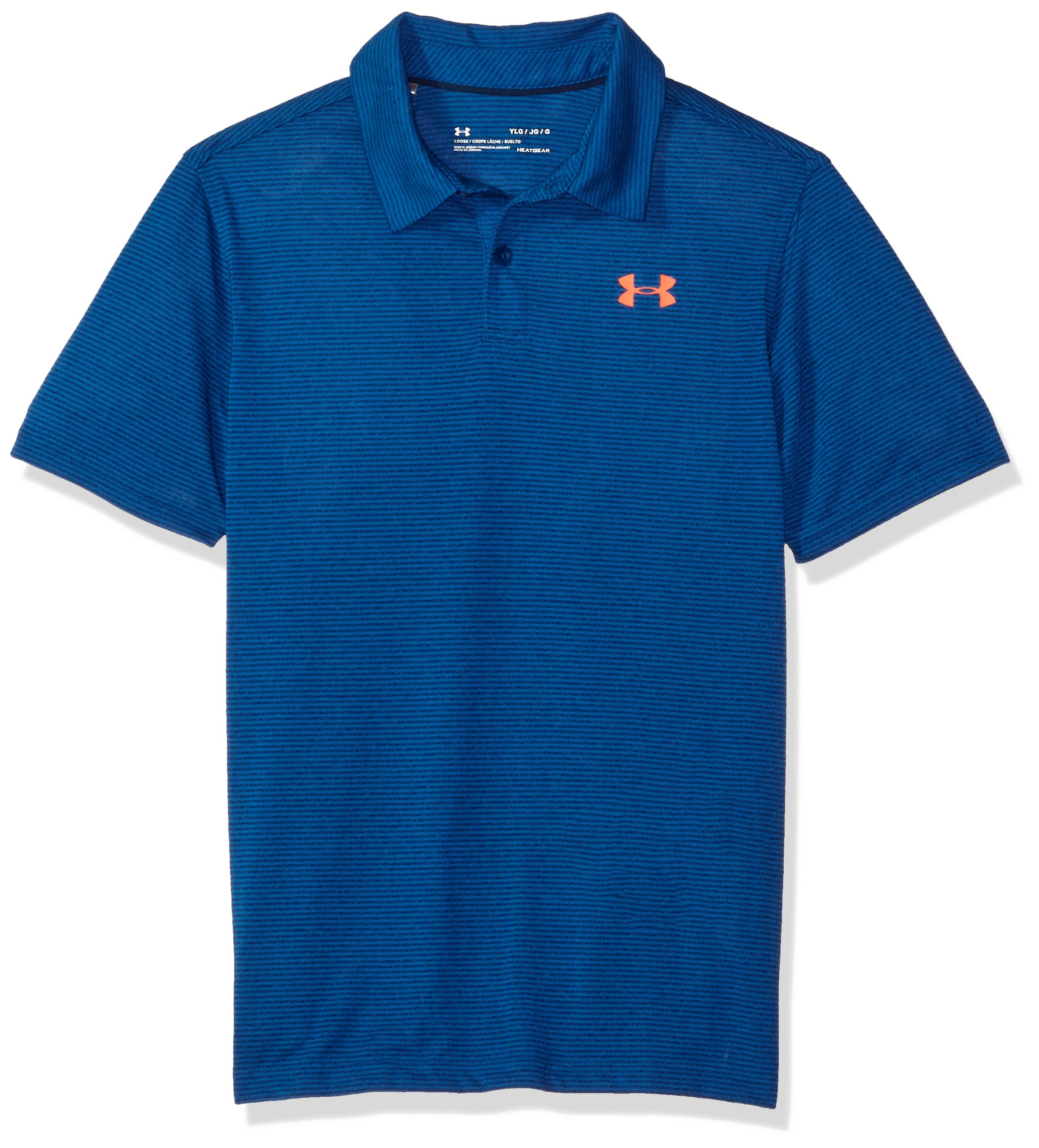 Under Armour UA Threadborne Youth X-Small Moroccan Blue