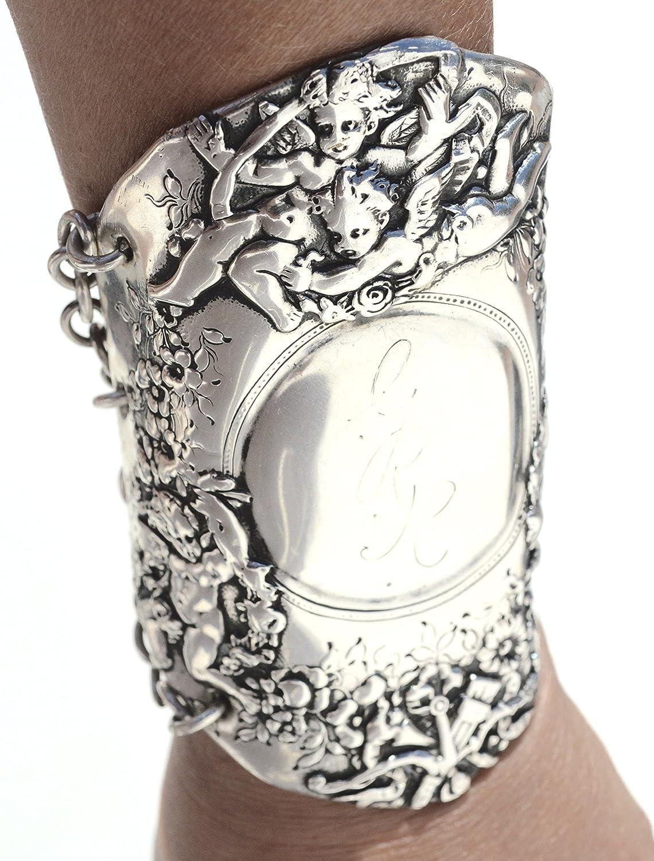 Vintage Sterling Cuff Bracelet .925
