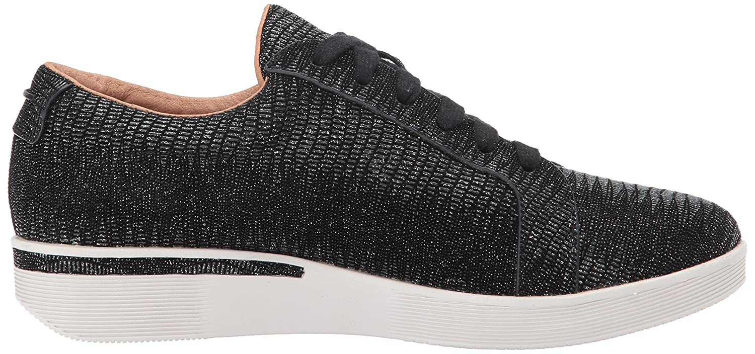 Gentle Souls Haddie by Kenneth Cole Women's Haddie Souls Low Profile Fashion Sneaker Embossed Fashion Sneaker B072BGNJ7L 11 M US|Black Embossed 7ff0b1