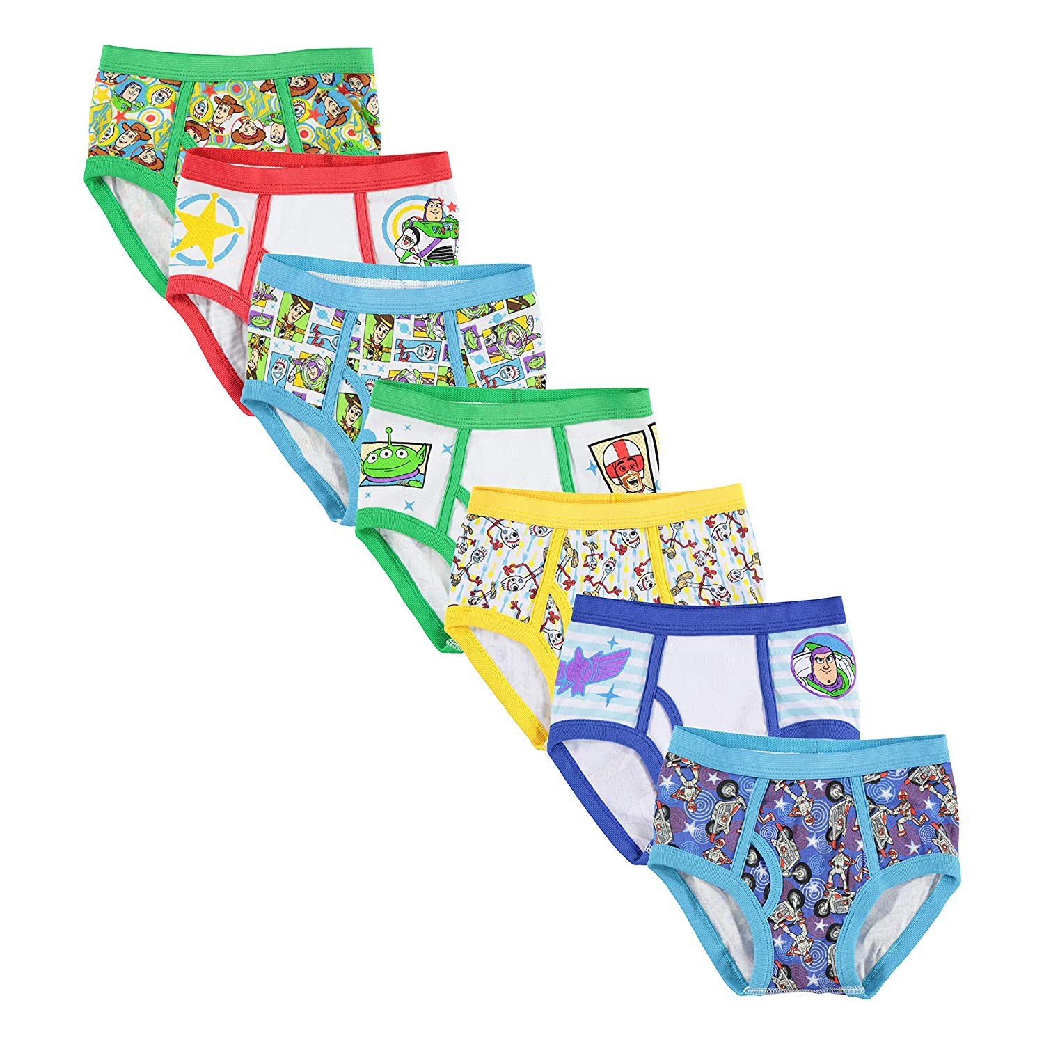 Disney Little Boys Toy Story 7-Pack Brief